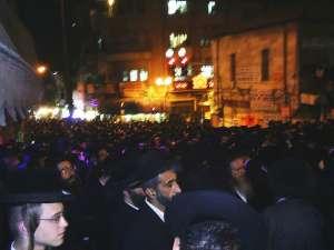 Гей парадът в Йерусалим през 2015 г., когато Ишайл Шлиселе уби човек. Снимка: Wikipedia