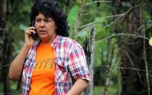 Убитата екоактивистка Берта Касерес.