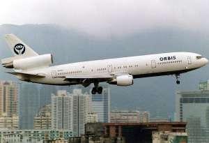 Бивша летяща болница на Орбис в Хонг Конг. Снимка: Wikimedia Commons