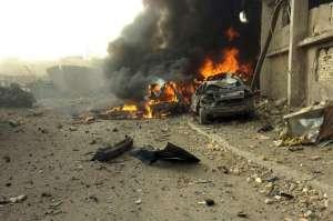 Атентатът в Багдад. Снимка: Уикимедия комънс.
