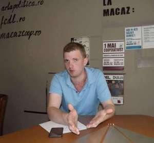 Danny Byrne de la Comitetul pentru o Internațională a Lurcătorilor (foto: Vladimir Mitev)