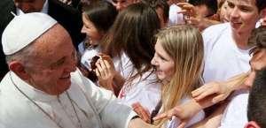Папа Франциск сред участници в Световните дни на католическата младеж в Краков