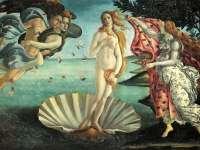 """Галерията """"Уфици"""" във Флоренция, където е изложена творбата на Ботичели """"Раждането на Венера"""", може да предложи добра инвестиция на част от отпусканите 500 евро"""