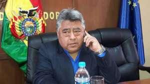 Вътрешният зам.-минитър на Боливия Родолфо Иянес
