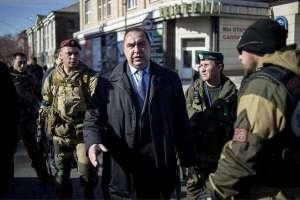 Игор Плотницки с охранители