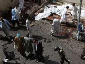 Зловеща картина остави атентатът в болницата в пакистанския град Квета