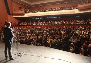 Пълните зали са доказателство, че позициите на ген. Радев се радват на добър прием в България.