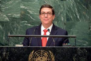 Външният министър на Куба Бруно Родригес разказа в ООН много примери как ембаргото продължава да удря по Куба