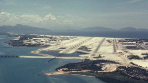 Така изглежда базата Камран през 1967 г., когато там са американците