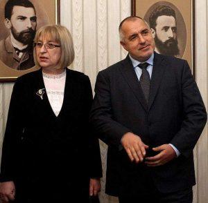 Кандидат-президентката Цецка Цачева и премиерът Бойко Борисов вдъхновяват и сънищата на народа