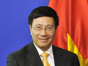 Външният министър на Виетнам Ле Хай Бин