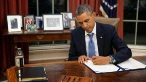 """Подписвайки новата директива, Обама обяви нормализацията с Куба за необратима"""""""