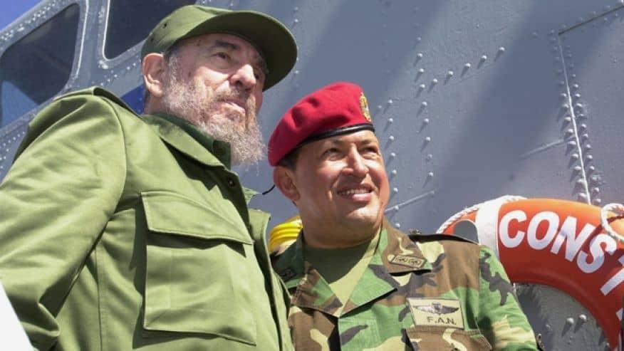 Силно приятелство и единомислие свързваше Фидел Кастро и венесуелския лидер Уго Чавес