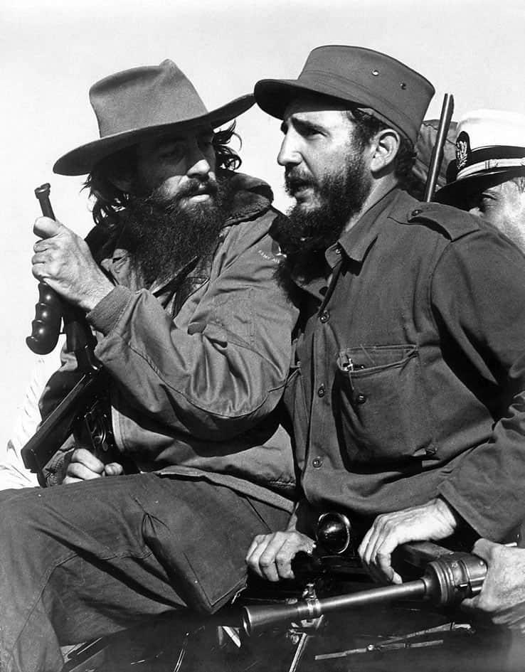 Фидел Кастро и Камило Сиенфуегос, 1959-та