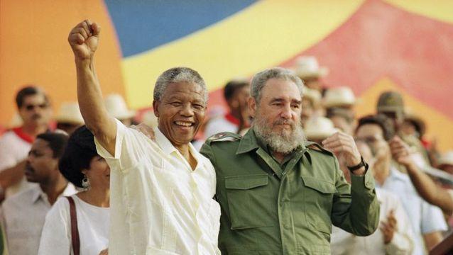 Нелсън Мандела остана завинаги благодарен на приятеля си Фидел за решаващия принос на кубинските войски за разбиването на режима на апартейд в Южна Африка