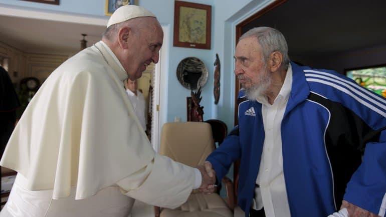 Папа Франциск и Фидел