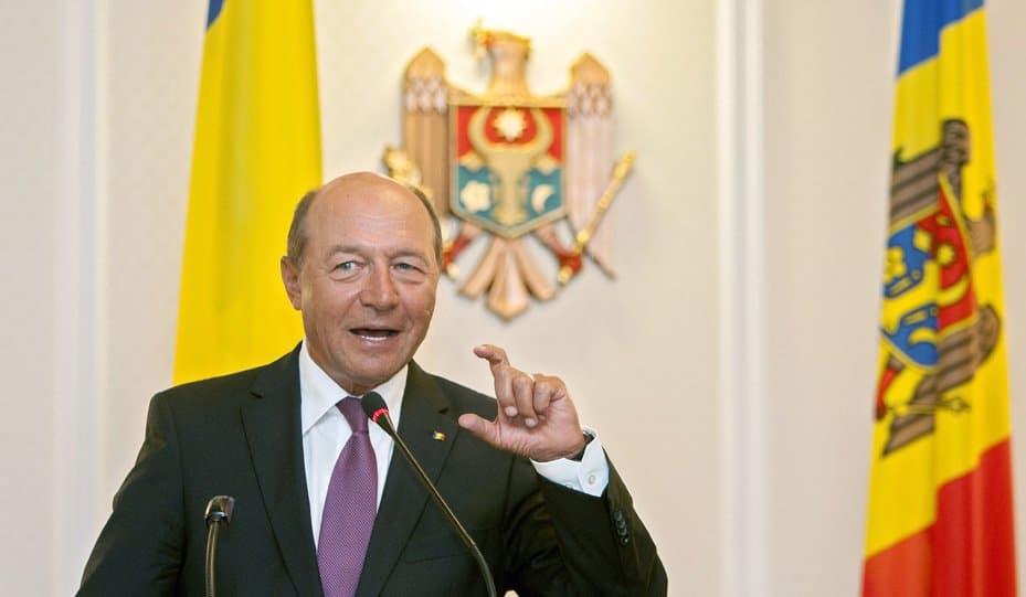 Бившият румънски президент Траян Бъсеску остава един от най-упоритите поддръжници на обединението с Молдова
