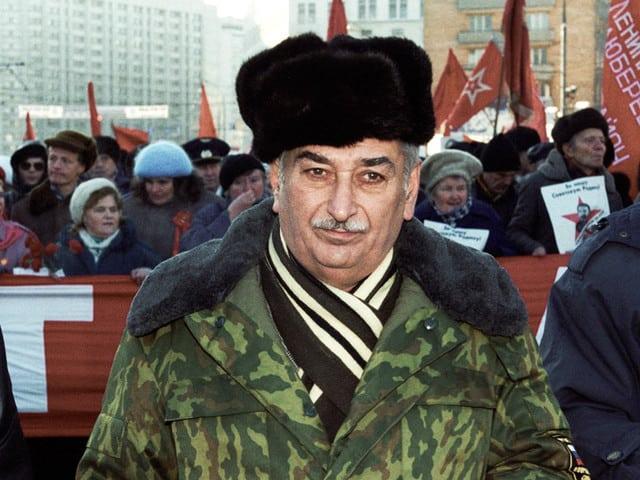 Евгений Джугашвили често можеше да бъде видян на комунистически манифестации в Русия и Грузия