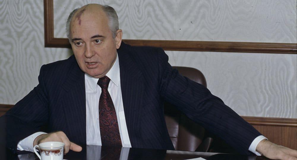 Михаил Горбачов през 1991-ва