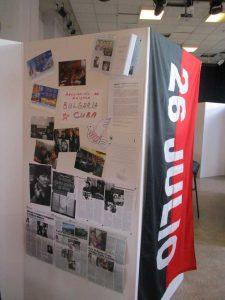 """Панел с представяне на Асоциацията """"България-Куба"""" на срещата в Стокхолм"""