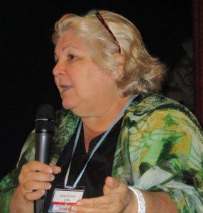 Алейда Гевара на срещата в Стокхолм