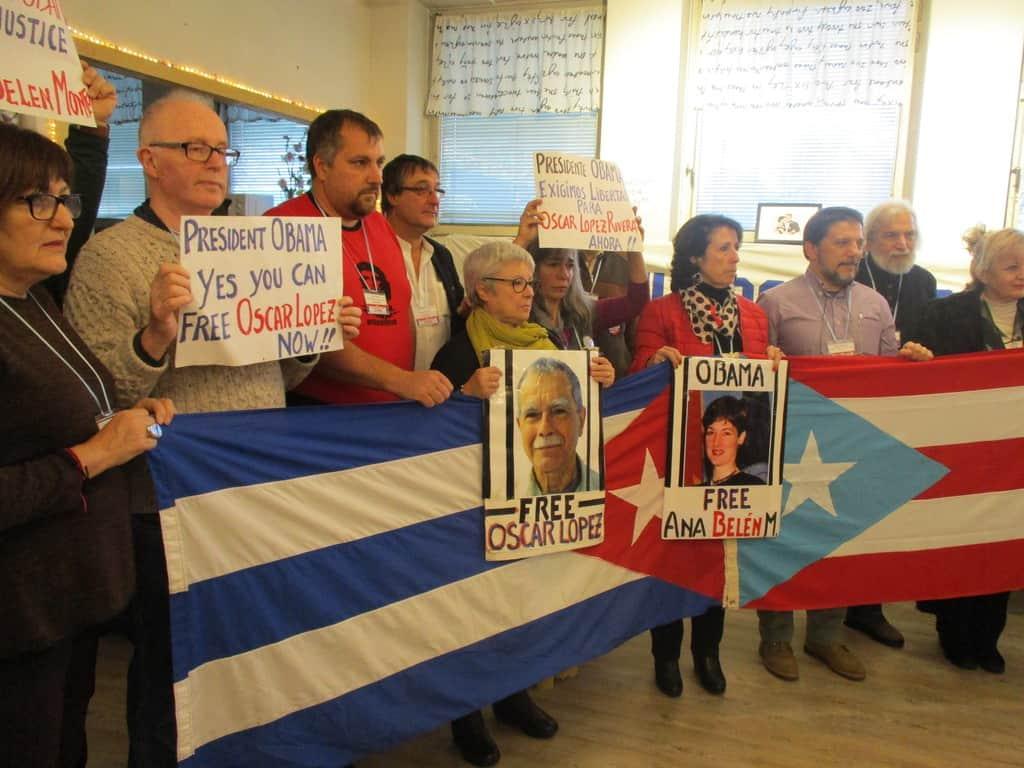 Участници в срещата настояха и за освобождаването на двама борца за независимост на Пуерто Рико от затворите в САЩ