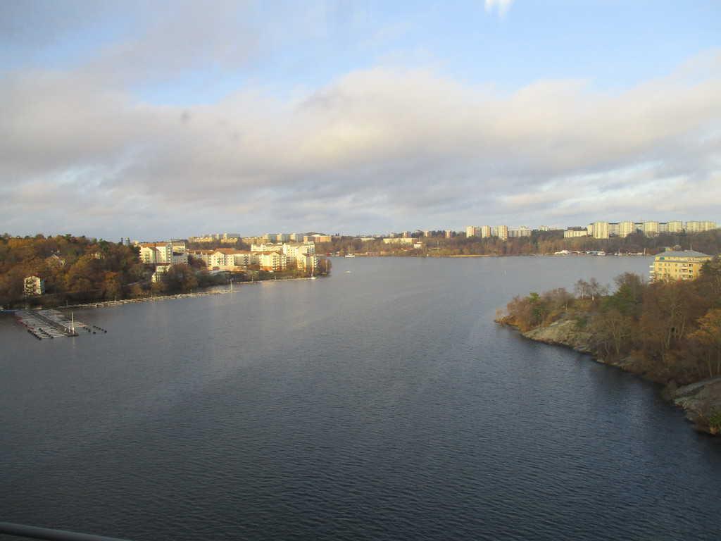 Водата и небето се прегръщат и в новите квартали на Стокхолм