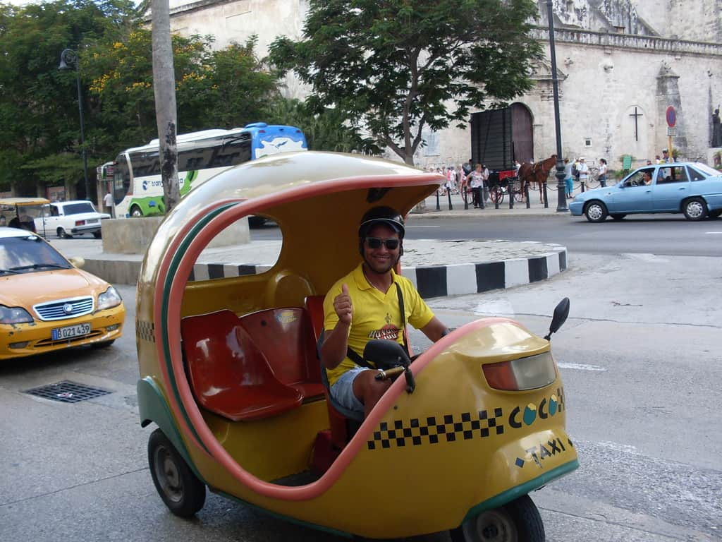 """С """"коко-такси"""" е евтино и проветриво"""