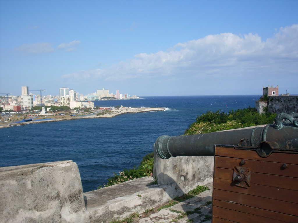 """Изглед към Хавана откъм """"Ел Моро"""""""