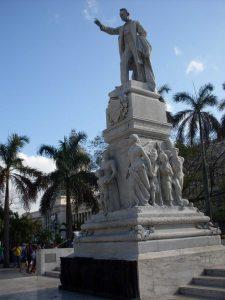 Старият паметник на Хосе Марти