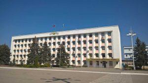 Сградата Градския изпълнителен комитет в Бендери. Тежки боева с били проведени през юни 1992 г. за този обект.
