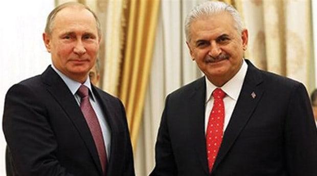 Руският президент Владимир Путин също прие турския премиер Бинали Йълдъръм
