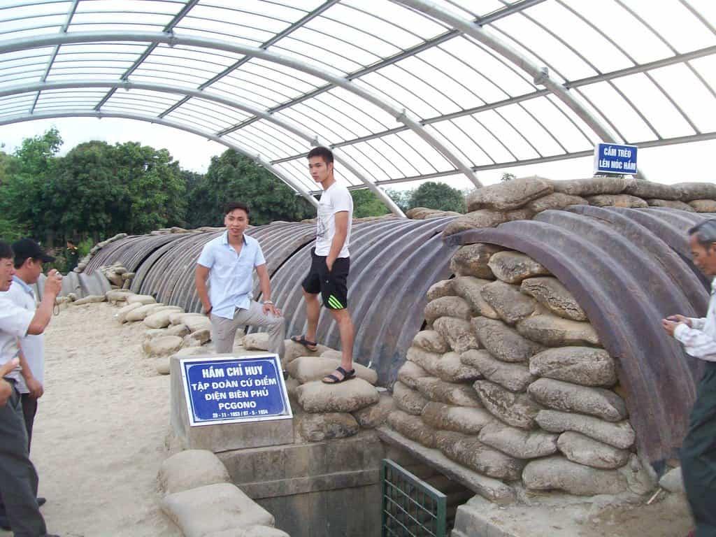 Бункерът на генерал Де Кастри днес