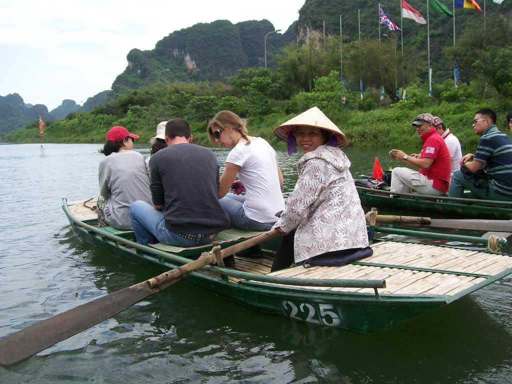 Лодкарките са предимно жени