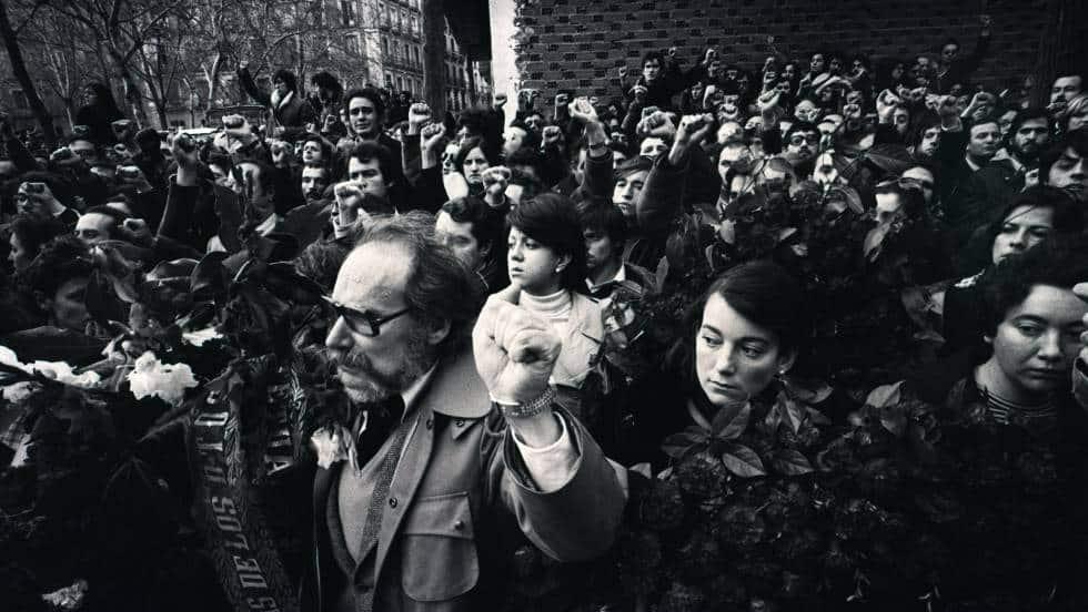 """Мълчаливото погребение на жертвите от """"Аточа"""" на 26 януари 1977 г. става най-голямата демонстрация срещу франкизма след смъртта на диктатора"""
