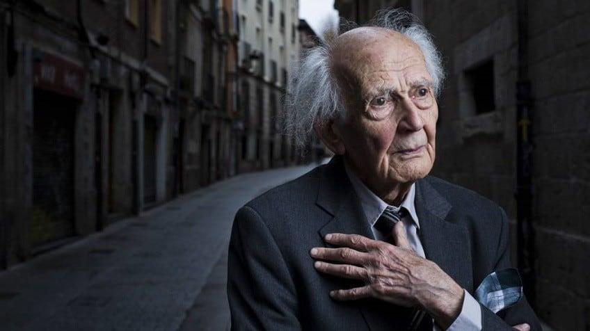 Зигмунт Бауман в Бургос, по време на интервю, дадено миналата година
