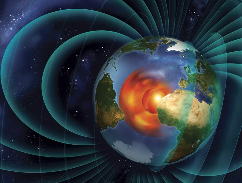 Земното ядро осигурява магнитната защита на планетата ни от смъртоносната космическа радиация