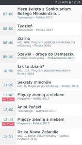 """Скрийншот на част от анонса на националната телевизия в Полша във """"Фейсбук"""" профила ѝ."""