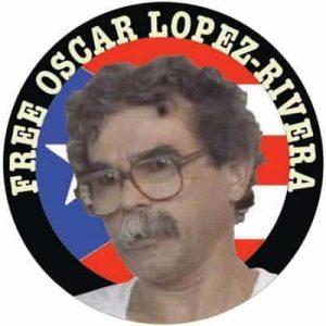 Плакат за освобождаването на Оскар Лопес от края на 90-те