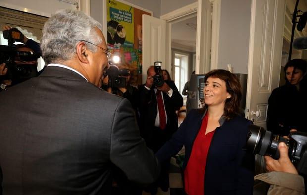 Антонио Коща и Катарина Мартинс. Снимка: expresso.sapo.pt