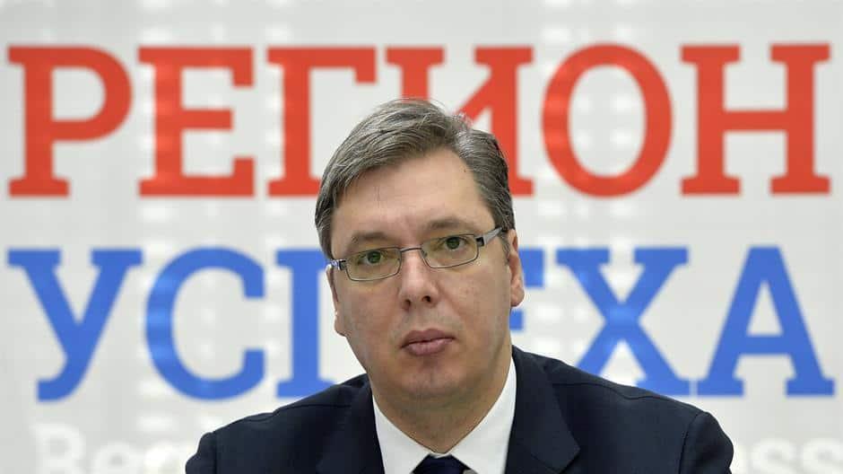 Премиерът Александър Вучич. Снимка: Уикипедия