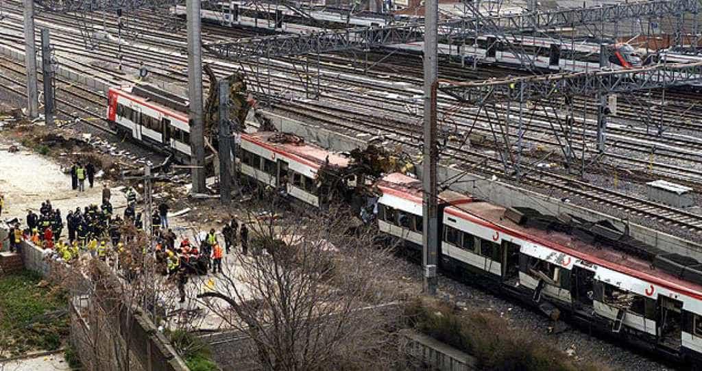 """Жестокият атентат на гара """"Аточа"""" в Мадрид на 11 март 2004 г. отне живота на над 200 души. Снимка rtve.es"""
