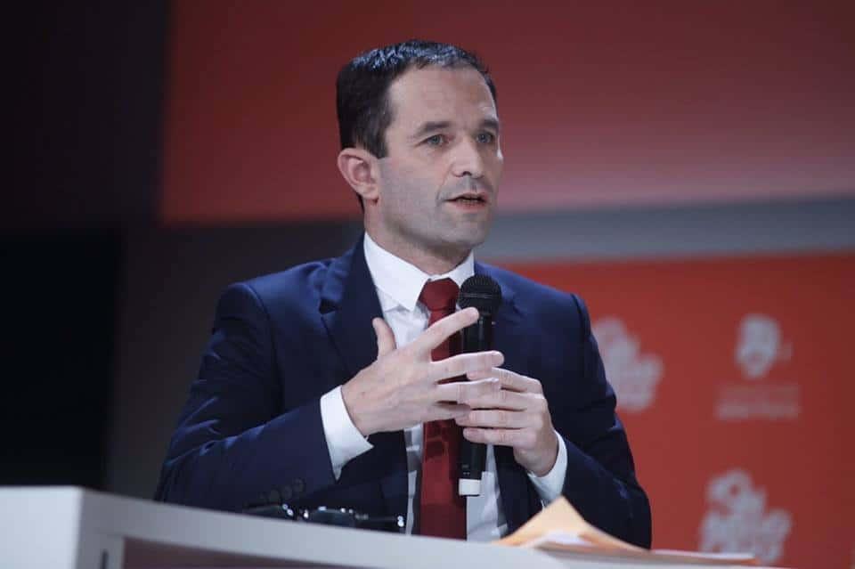 Беноа Амон бе избран за кандидат на френските социалисти в празидентските избори напролет. Снимка: Фейсбук