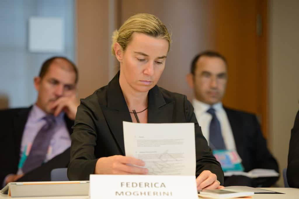 Федерика Могерини. Снимка: Уикипедия