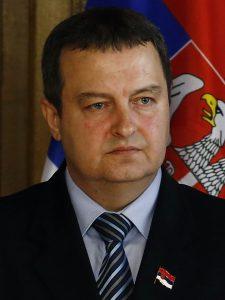 Външният министър Ивица Дачич си прави сметки я за премиер, я за президент. Снимка: Уикипедия