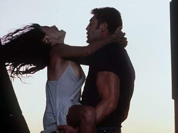 """Пенелопе Крус дълго се опитва да се отърве от еротичната слава на тази сцена с Хавиер Бардем в """"Шунка, шунка"""". Снимка: diariouno.com.ar"""
