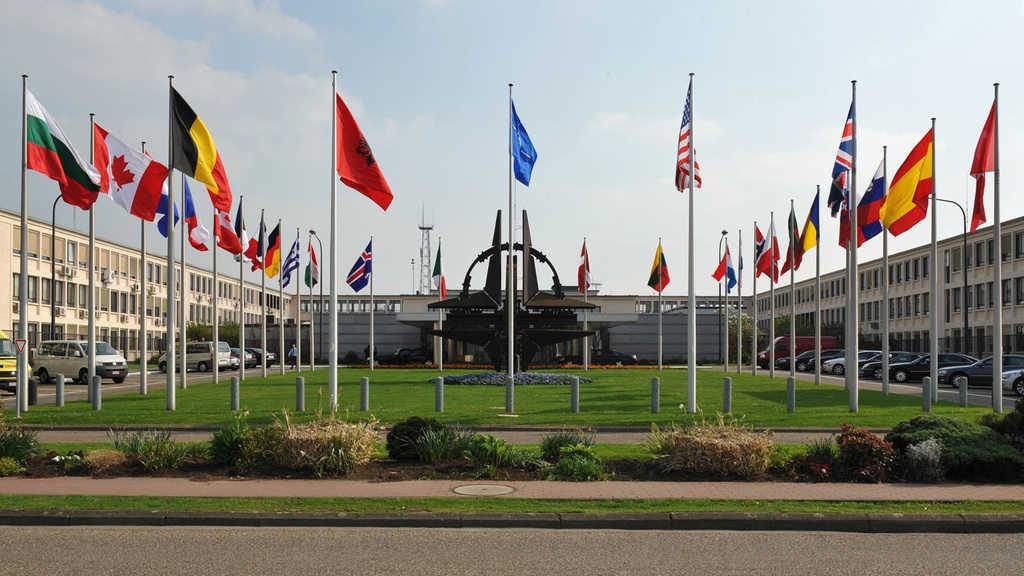 Централата на НАТО в Монс. Снимка: nato.int