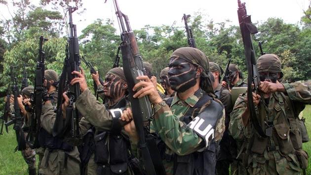 Тренировка на паравоенна групировка на крайната десница. Снимка: RT