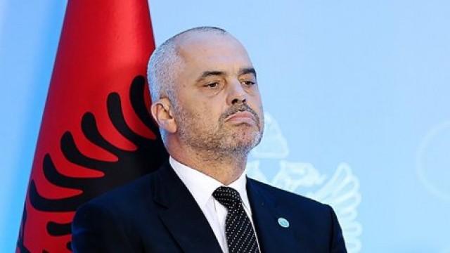 Премиерът на Албания Еди Рама. Снимка: Balkan Breaking News