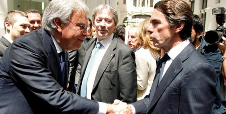 Фелипе Гонсалес и Хосе Мария Аснар. Снимка: estrelladigital.es